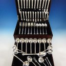 Silver Plumes by Towle Sterling Silver Flatware Set For 8 Service 32 Pieces