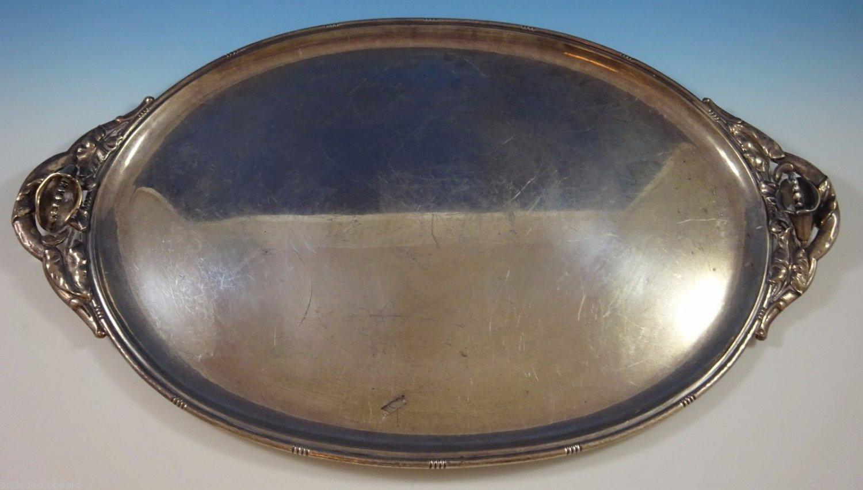 "Redlich & Co. Sterling Silver Serving Tray #9392 2"" X 26 1/2"" (#1200)"