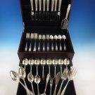 Stradivari by Wallace Sterling Silver Flatware Set For 8 Service 50 Pcs Dinner