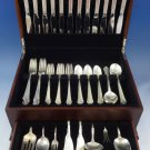 Damask Rose by Oneida Sterling Silver Dinner Flatware Set For 12 Service 78 Pcs