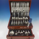 Lily of the Valley by Whiting Sterling Silver Flatware Dinner Set 12 Service