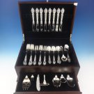 Belvedere by Lunt Sterling Silver Flatware Set For 8 Service 47 Pieces