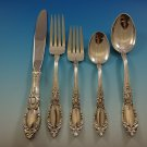 King Richard by Towle Sterling Silver Flatware Set For 6 Service 30 Pieces