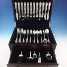 Pendant of Fruit by Lunt Sterling Silver Flatware Set For 12 Service 65 Pieces
