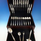 Sentimental by Oneida Sterling Silver Flatware Set For 8 Service 44 Pieces
