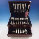 Rose Point by Wallace Sterling Silver Flatware Set For 8 Service 59 Pieces