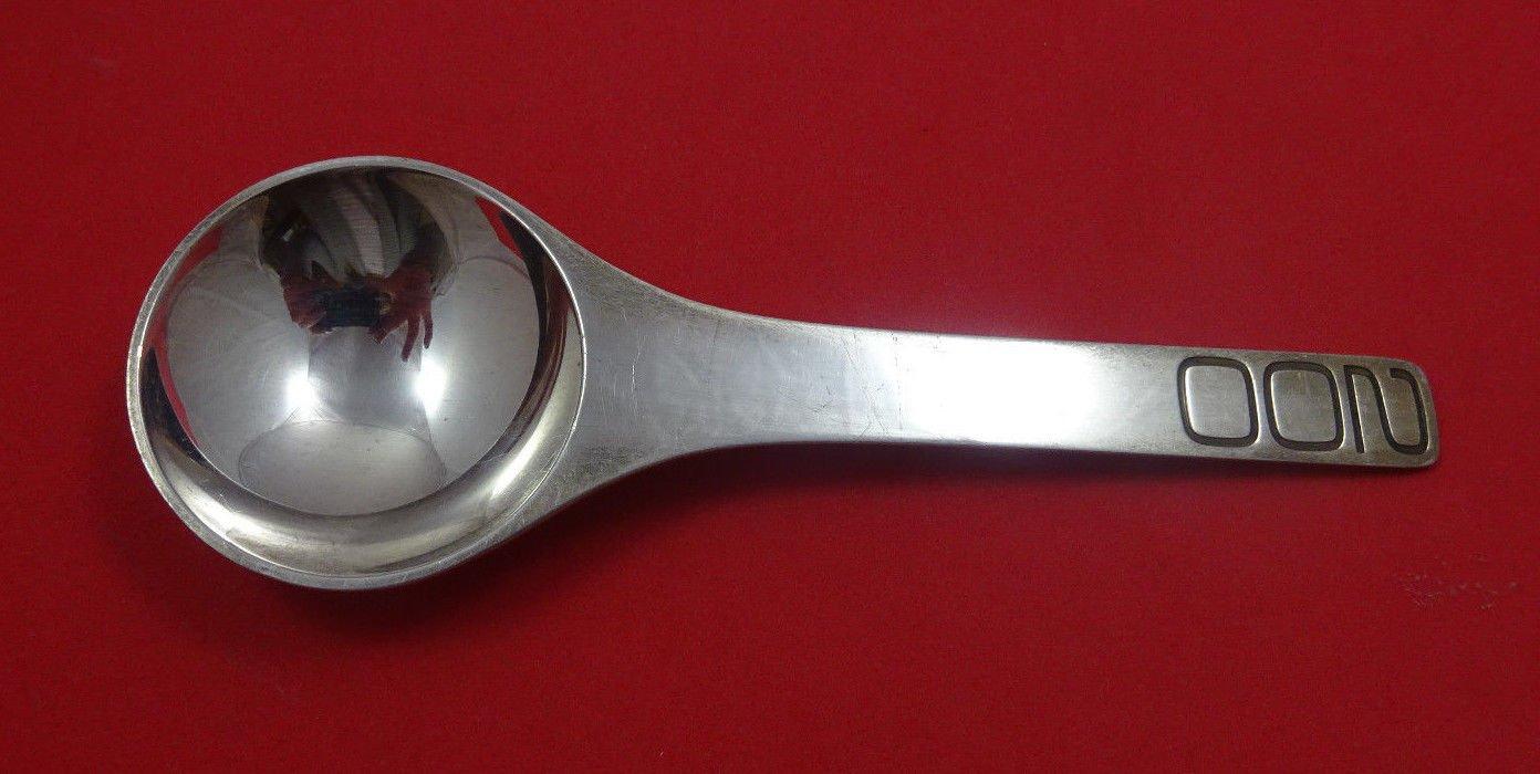 "Georg Jensen Sterling Silver Spoon Bicentennial ""200"" 1776-1976 5 3/4"""
