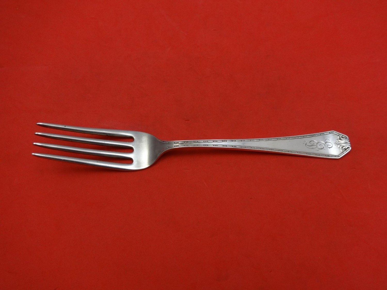Madam Morris by Whiting Sterling Silver Dinner Fork 7 5/8""