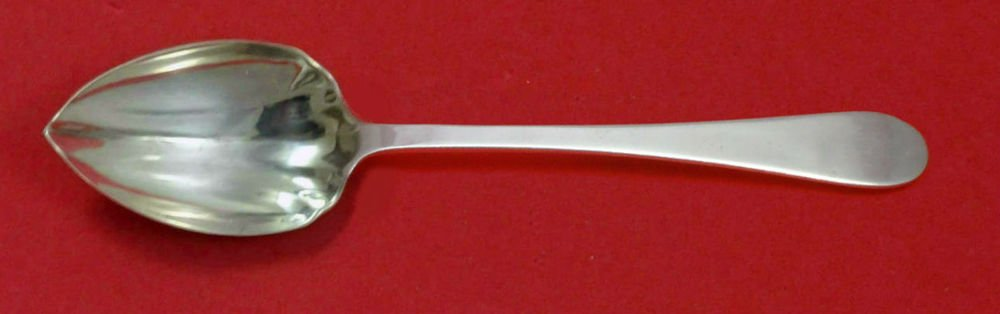 Salem by Tiffany & Co. Sterling Silver Grapefruit Spoon Fluted Custom Made 5 3/4