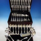 Debussy by Towle Sterling Silver Flatware Set For 12 Service 77 Pcs Dinner Size