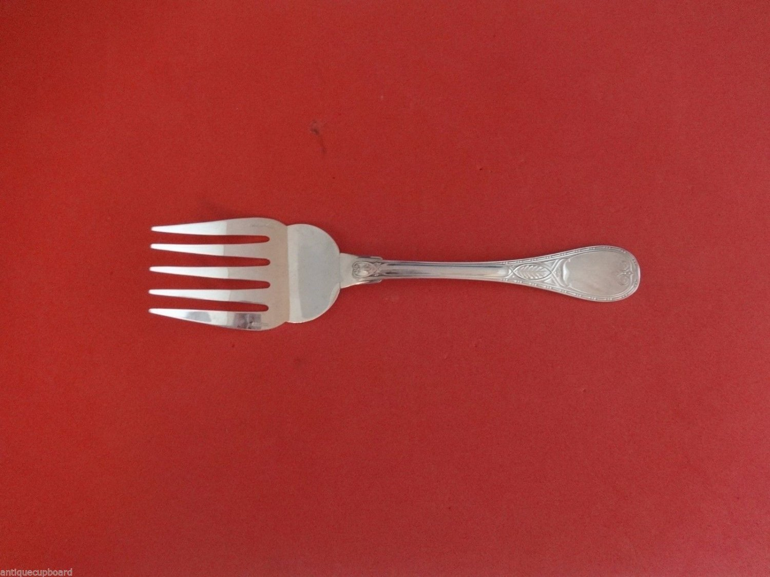 Brienne by Christofle Sterling Silver Fish Serving Fork 5-Tine 8 3/4""