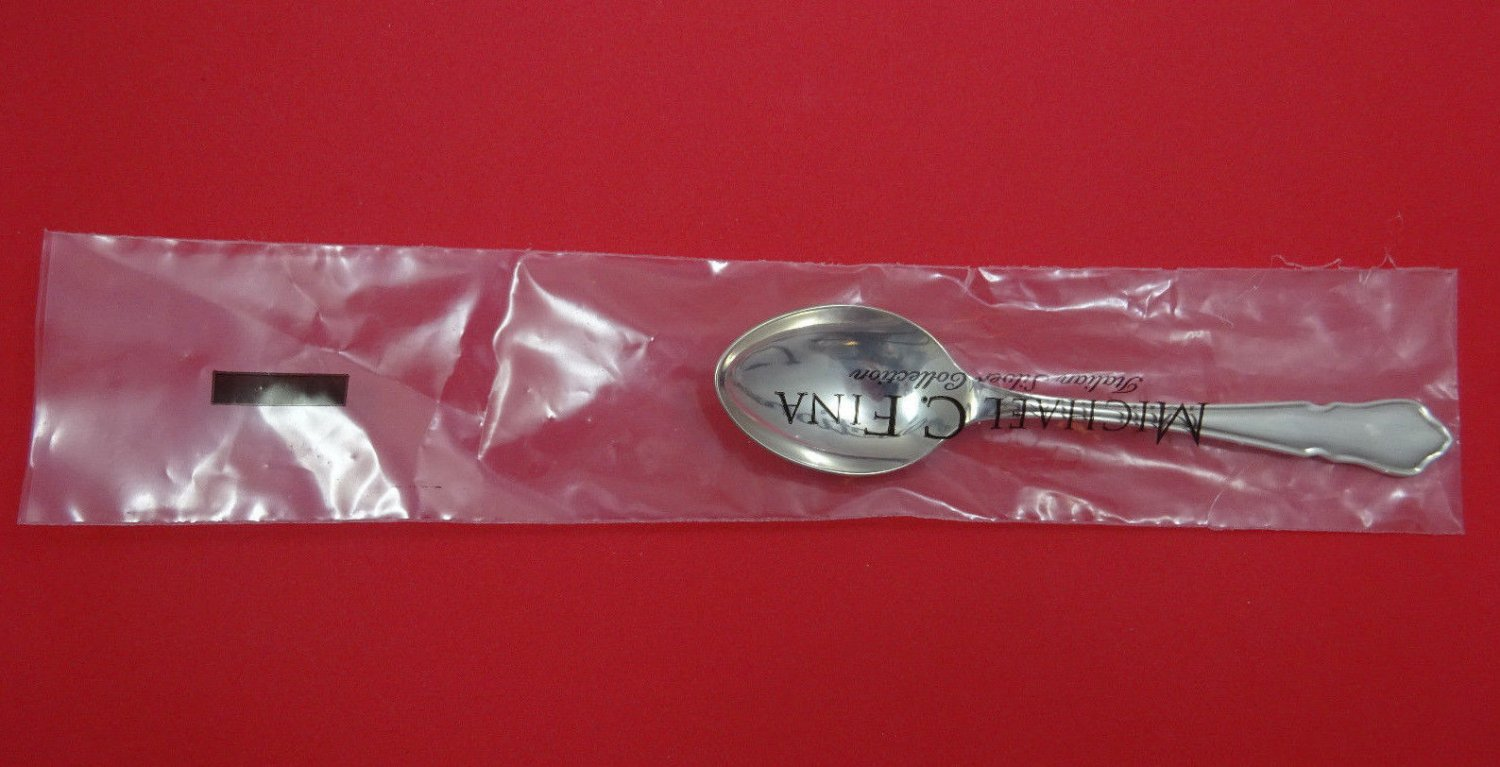 """Du Barry by Carrs Sterling Silver Teaspoon 6 1/8"""" (Retail $164) New"""