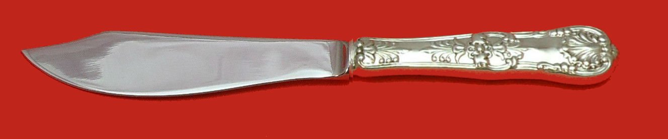 """English King by Tiffany and Co Sterling Silver Fish Knife Custom HHWS  8 1/4"""""""