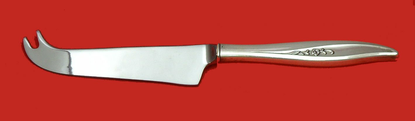 Twilight by Oneida Sterling Silver Cheese Knife w/Pick HHWS  Custom Made 8 1/4""