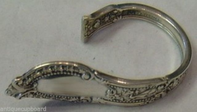 """Tuileries by Gorham Sterling Silver Napkin Clip Custom Made 2 1/4"""""""