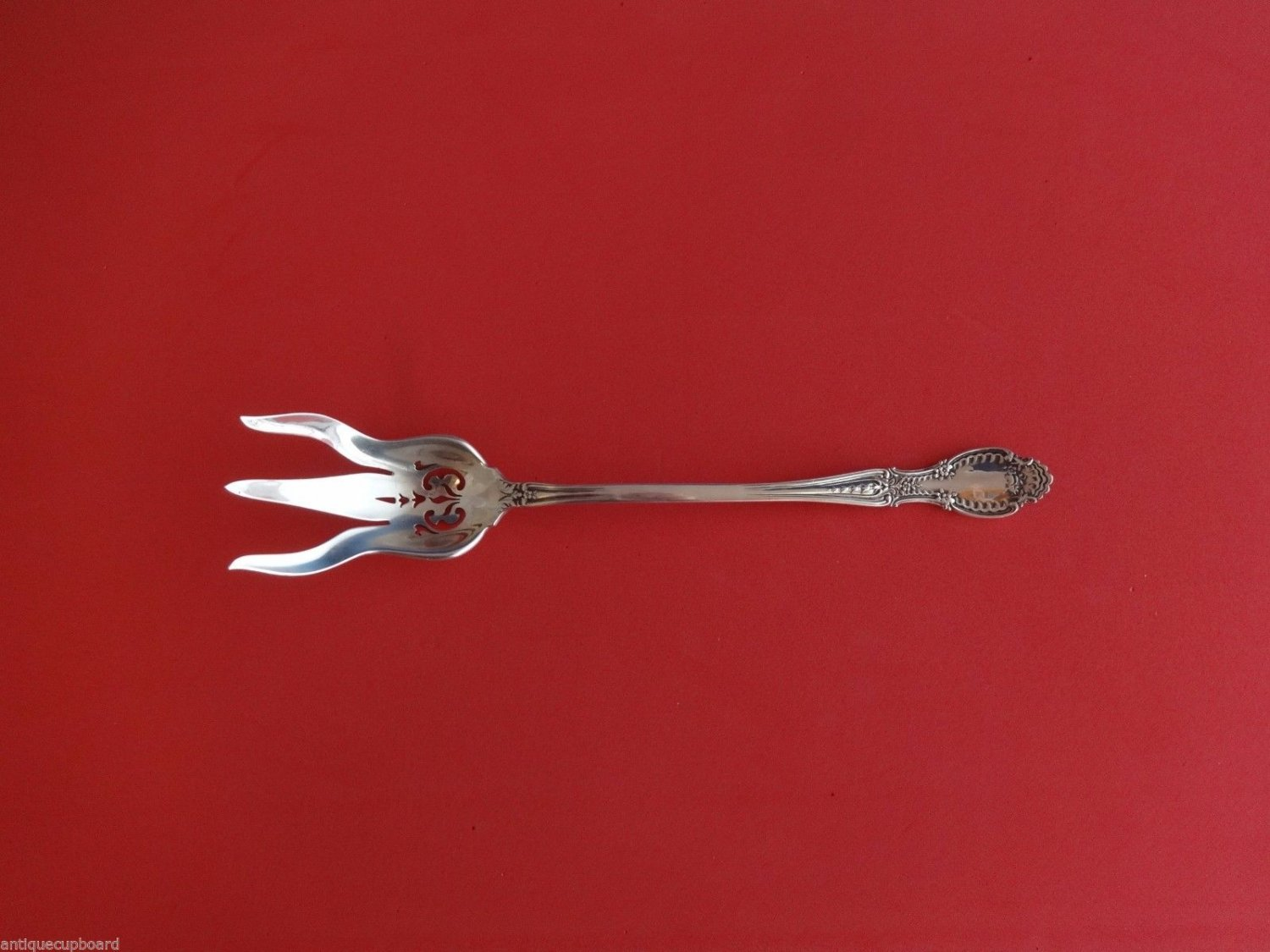 Richelieu by Tiffany & Co. Sterling Silver Lettuce Fork Pierced 8 1/4""