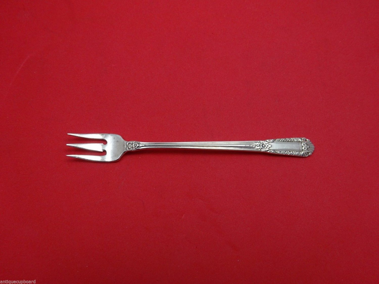 Inaugural by State House Sterling Silver Cocktail Fork 5 1/2""
