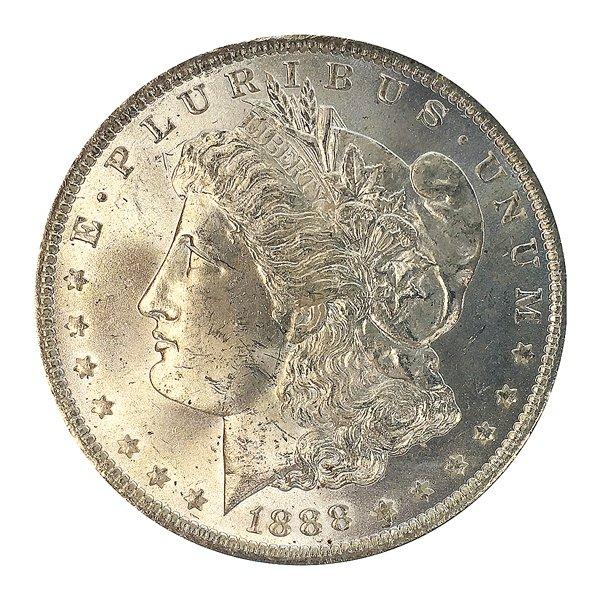 1888 O Morgan Silver Dollar - Gem BU / MS / UNC