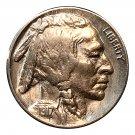 1917 P Buffalo Nickel - BU / MS / UNC - Luster