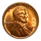 1927 P Lincoln Wheat Cent - Gem BU / MS RD / Unc - Luster