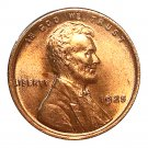 1925 P Lincoln Wheat Cent - Red Gem BU / MS RD / Unc - Luster
