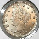 1904 Liberty Head V Nickel - Gem BU / MS / UNC