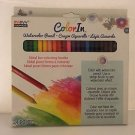 Marvy Uchida Color In Watercolor Pencils 24 Pc Set