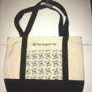 Honest Company Skull and Crossbones Tote Canvas Bag New With Defects