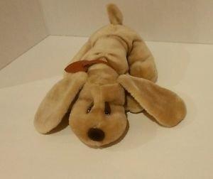 Vintage 1985 JRL Lonely Little Puppies, Brown Plush Dog, 3+, Boys & Girls