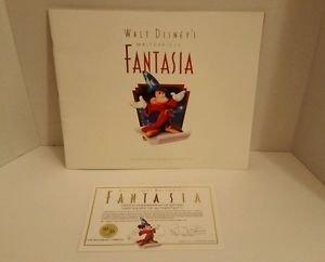 Walt Disney's Masterpiece Fantasia Deluxe Commemorative Edition 1991 book