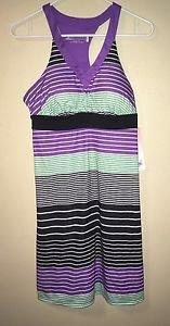 Womens Outdoor Athletic Lifestyle Zeroxposur Cover-up Dress Active Purple Sz SM