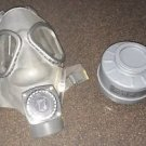 NOS Finnish M61 Gas Mask w/ NOKIA Amplifier & 60mm NBC Filter (Small) 3rd GEN.
