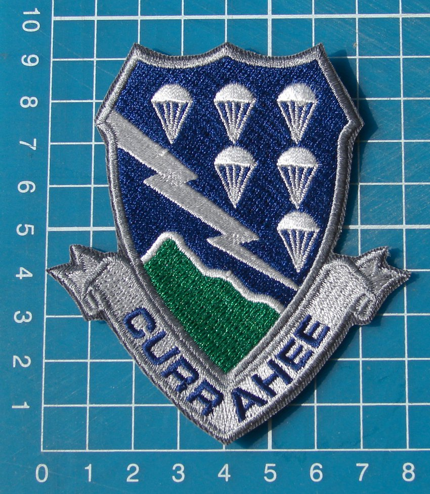 Airborne 506th Infantry Regiment Military Tactical Patches