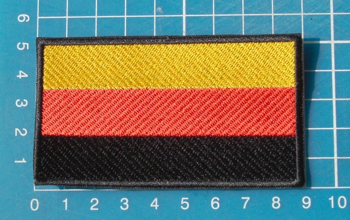 German Flag Military Tactical Army Sew On Embroidery