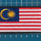 Malaysia Flag Military Army Tactical Patch Sew on Embroidery