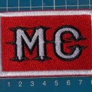 MC Motorcycle biker Patch sew on embroidery