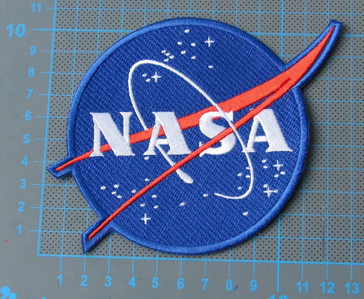 NASA Seal Patch sew on embroidery