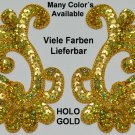 pair appliques sequins applikationen pailletten sew on embroidery handmade ap40