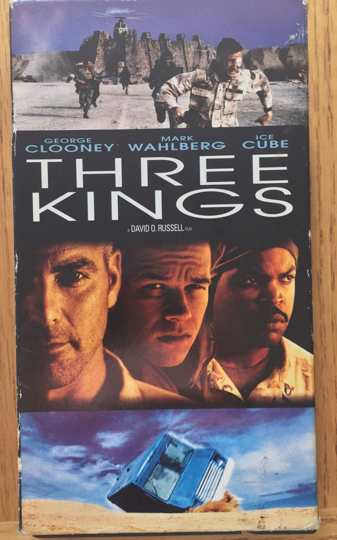 Three Kings VHS w FREE SHIPPING