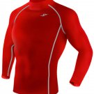 Take Five Mens Skin Tight Compression Base Layer Running Shirt S~2XL Red 051