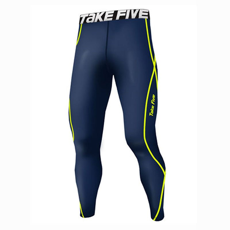 Take Five Mens Skin Tight Compression Base Layer Running Pants Leggings 209
