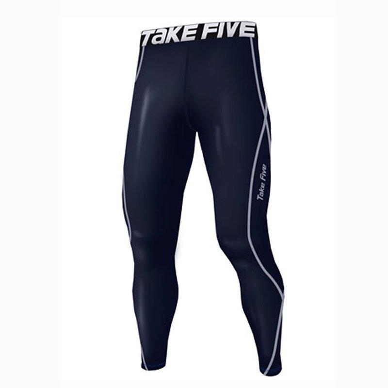 Take Five Mens Skin Tight Compression Base Layer Running Pants Leggings 189