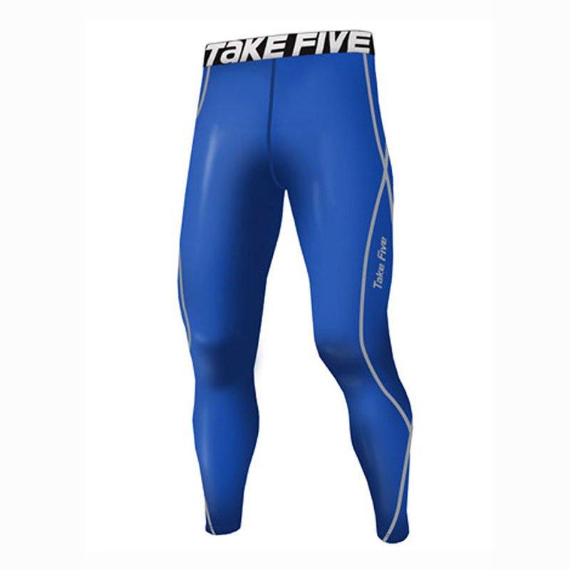 Take Five Mens Skin Tight Compression Base Layer Running Pants Leggings 054