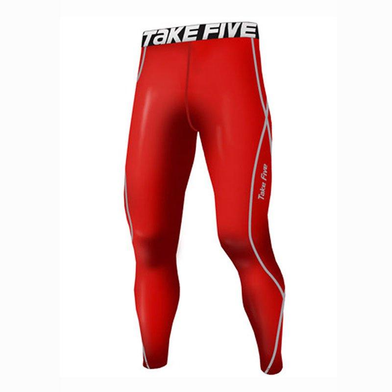 Take Five Mens Skin Tight Compression Base Layer Running Pants Leggings 167