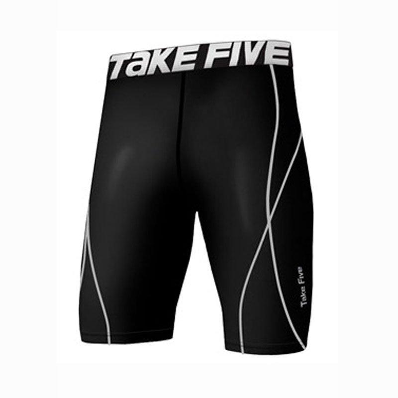 Take Five Mens Skin Tight Compression Base Layer Running Pants Leggings 022