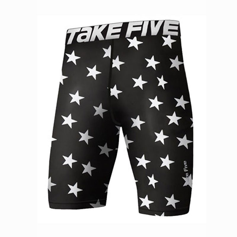 Take Five Mens Skin Tight Compression Base Layer Running Pants Leggings 072