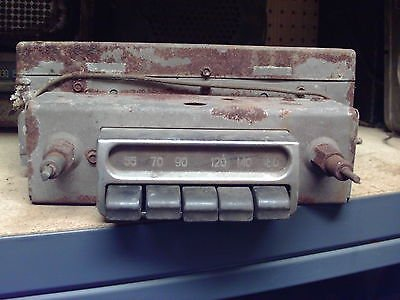 1953-54 Chevrolet AM Radio Delco Model 986516