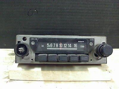1970s Clarion AM Radio Model RF-1421