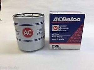 ACDelco Professional Oil Filter PF25 Classic GM#19187300
