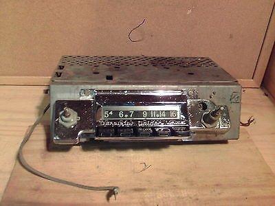 1962 Chevrolet Motorola AM Radio Model CTA62B #35094